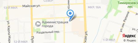 ЛесовикСтройКомплект на карте Ижевска