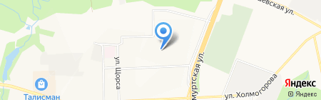 Non-Stop на карте Ижевска