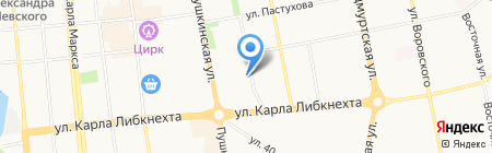 Единая Правовая Служба на карте Ижевска