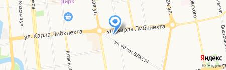 ДНС на карте Ижевска