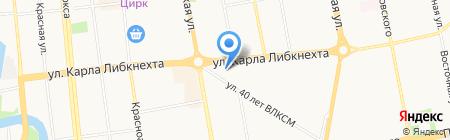 Мастер-обувь на карте Ижевска