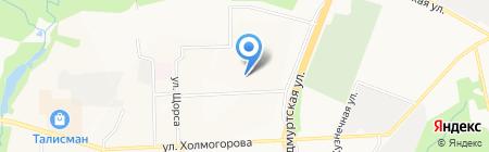 Школа высшего пилотажа плюс на карте Ижевска