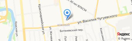 Камский коммерческий банк на карте Ижевска