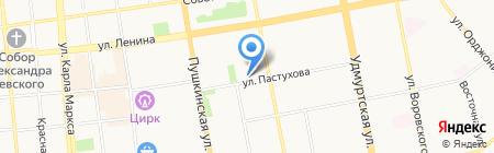 Кунгурская нефтяная компания на карте Ижевска