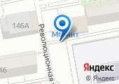 Киоск по продаже фруктов и овощей на карте