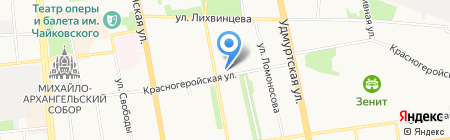 La boheme artistique на карте Ижевска