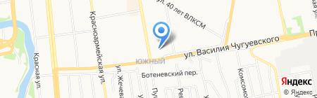 Иномарка18.рф на карте Ижевска