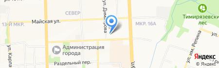 Спецназ-Восток на карте Ижевска