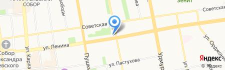 БыстроБанк на карте Ижевска