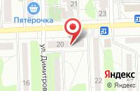 Схема проезда до компании Ижевские Моторы в Ижевске