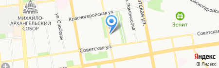 ТРОДАТ-Урал на карте Ижевска
