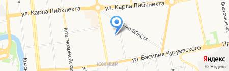Гримерка на карте Ижевска