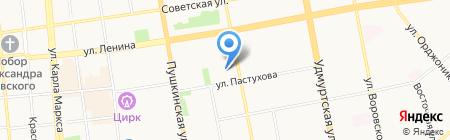 Центр профессиональной оценки на карте Ижевска