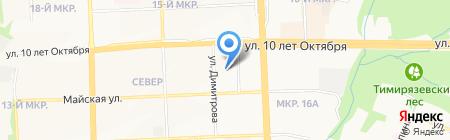 Интер-Камень на карте Ижевска