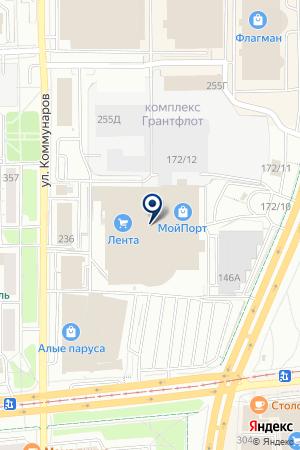 11 ОКОН на карте Ижевска
