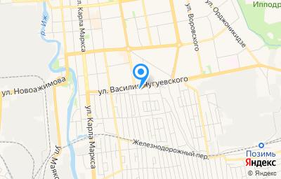 Местоположение на карте пункта техосмотра по адресу г Ижевск, ул Пушкинская, д 62