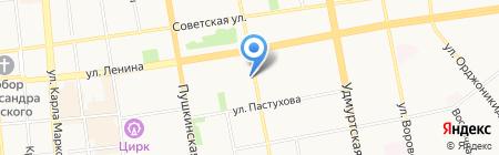 Надежные окна на карте Ижевска