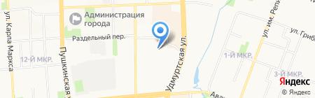 Лаборатория термопечати на карте Ижевска