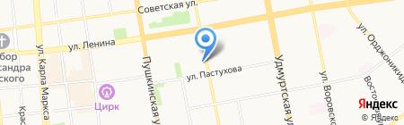 Спецмонтажавтоматика на карте Ижевска
