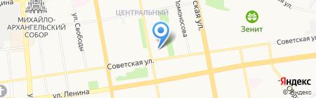 Гимназия №24 на карте Ижевска