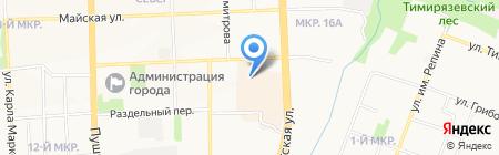 Скинали на карте Ижевска