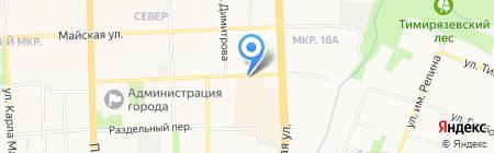 Кулинария Северная на карте Ижевска