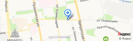 Савостин и партнеры на карте Ижевска