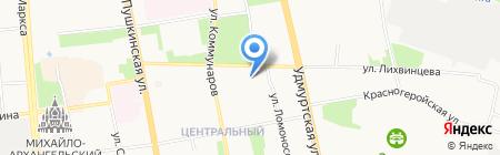 ИнфоТех на карте Ижевска