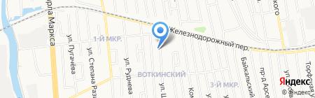 Авторазбор на карте Ижевска