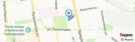 Патриот Отечества на карте Ижевска