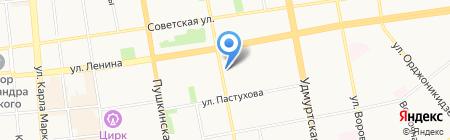 ЛайфДанс на карте Ижевска