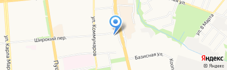 Промсвязьбанк на карте Ижевска