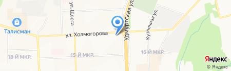 Швейный Мир на карте Ижевска