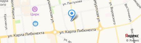 Сабантуй на карте Ижевска