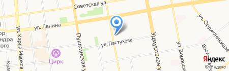 Mr Flowers на карте Ижевска