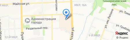 Прайскиллер TechnoPoint на карте Ижевска