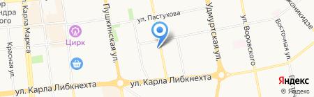 Ижтрейд Сервис на карте Ижевска