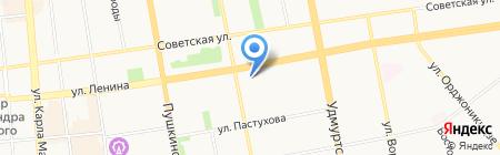 ОлНи на карте Ижевска