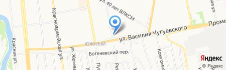 Frizbe на карте Ижевска