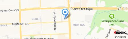 Теплоучет на карте Ижевска