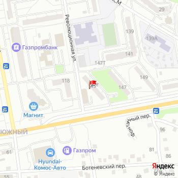 г. Ижевск, ул. Удмуртская,145А на карта