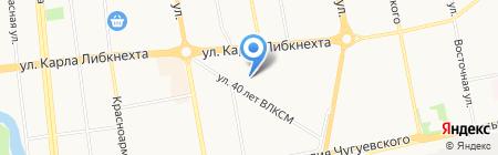 Детский сад №122 на карте Ижевска