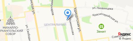 Букет-Декор на карте Ижевска