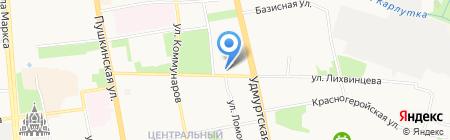 Valeri на карте Ижевска