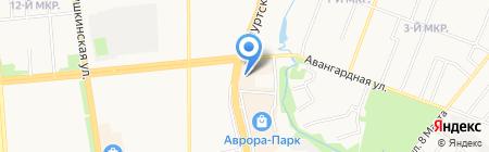 Трио на карте Ижевска