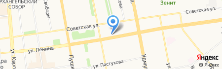 Хоттэй на карте Ижевска