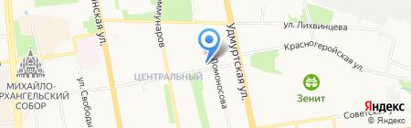 Gecom на карте Ижевска