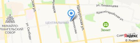ЭМ Груп на карте Ижевска