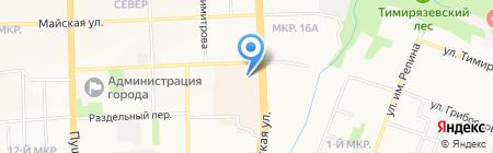 Финкраска на карте Ижевска