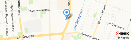 АКБ-МИР на карте Ижевска